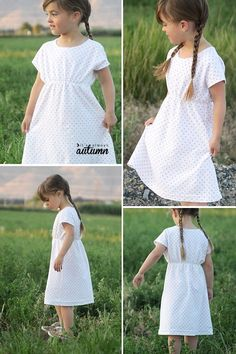 play-all-day dress: free girls' dress pattern in 6 sizes - It's Always Autumn free sewing pattern for this easy girls' play dress pattern in 6 different sizes! sewing pattern for this easy girls' play dress pattern in 6 different sizes! Little Girl Dress Patterns, Toddler Dress Patterns, Summer Dress Patterns, Childrens Sewing Patterns, Dress Sewing Patterns, Skirt Patterns, Pattern Sewing, Blouse Patterns, Baby Dress Pattern Free