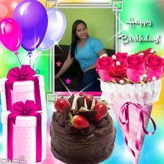 2zxda-2ykbd Birthday Photos, Happy Birthday, Cake, Creative, Desserts, Food, Anniversary Pictures, Happy Brithday, Tailgate Desserts