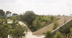Ada Karmi - Melamede arch - Ramat Hanadiv Visiting Center