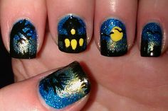 Best haunted house halloween nails ever!!!! Christina, you're amazingly talented!!