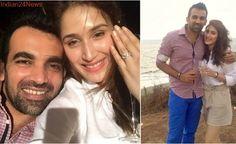 Actor Sagarika Ghatge gets engaged to cricketer Zaheer Khan. Who is Sagarika Ghatge? See pics