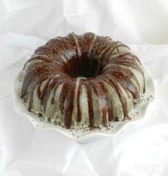 Peppermint Mocha Cocktail Cake