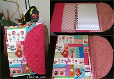 Capa de caderno by flavia_sm1963, via Flickr