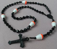 Fishing Rosary Tackle Box Ready No Metal Black with by kastex