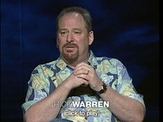 Rick Warren: A life of purpose  Pastor Rick Warren, author of The Purpose-Driven Life, reflects on his own crisis of purpose in the wake of his book's wild success. He explains his belief that God's intention is for each of us to use our talents and influence to do good.