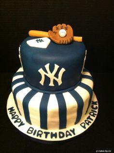 yankees birthday cakes