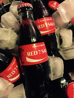 "To end out our 14th year anniversary month (MAY), we are offering all our clients a refreshingly cold ""Share a Coke"" with RED 7 SALON! So fun - we love it! The perfect beverage during these super hot 80 degree days... #shareacoke #coke #rivernorth #red7salon #favoritechicagosalon #red7changemakers #marketing #modernsalon"