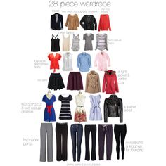 30 Piece parisian Minimalist Wardrobe | Found on salt-lake-lovely.polyvore.com