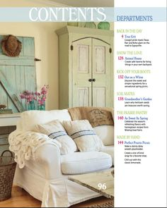 love the coloring on dor wall and armoire. French Larkspur