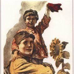 Soviet union Propaganda Soviet posters Lenin 452 by SovietPoster, $9.99