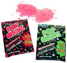 pop rocks but not with soda, it will kill you!