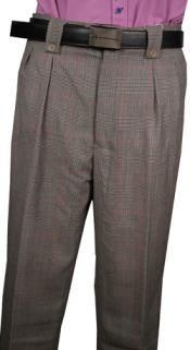 Elegant Plaid Wool Dress Pants In Black Color For Men Mens Wide Leg Trousers, Mens Slacks, Wide Leg Pants, White Plaid, Black And White, Mens Dress Pants, Well Dressed Men, Matching Shirts, Wool Dress