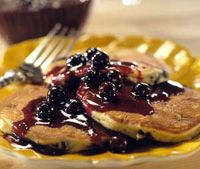 Blueberry-Ricotta Pancakes  #Ricotta