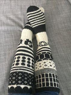 Marisukat. Knitting. Marimekko. Marimekkosukat.