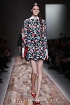 Valentino Ready To Wear Fall Winter 2013 Paris - NOWFASHION