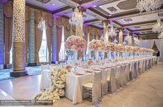 luxury wedding design decor florals vintage