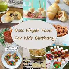 Toddler Birthday Party Finger Foods Pretty My Party Pretty My