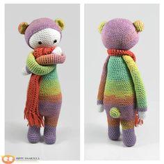 Bekijk dit items in mijn Etsy shop https://www.etsy.com/nl/listing/247119510/lalylala-bina-bear-doll-lalylala-bear