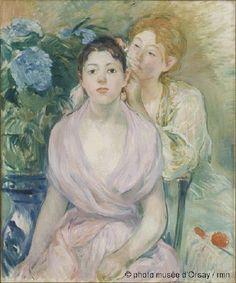 Petit Galerie d'Art: Berthe Morisot. L'hortensia