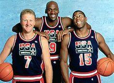Larry, Michael, & Magic.  1992.
