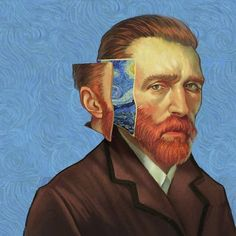 Van Gogh by Aykut Aydoğdu Vincent Van Gogh, Art And Illustration, Van Gogh Arte, Plakat Design, Art Hoe, Yellow Painting, Painting Art, Poster On, Art Plastique