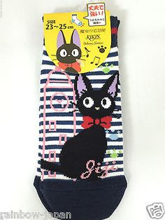 Kiki's Delivery Service Women's Socks 1pair 23 -25 cm Studio Ghibli JAPAN 08