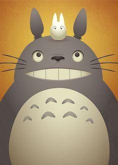 Are you a Totoro fan? Do you love Totoro as much as we do? M Anime, Girls Anime, Anime Art, Hayao Miyazaki, My Neighbour Totoro, Ai No Kusabi, Studio Ghibli Movies, Howls Moving Castle, Animation