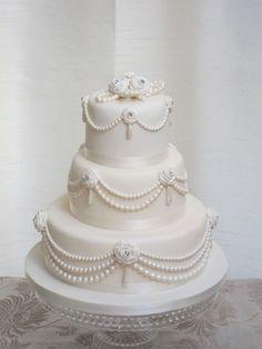 Esküvői torta 04 - #torta #eskuvoitorta #eskuvo #cake #wedding #weddingcake