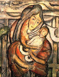 Tytus Czyżewski – Madonna z Dzieciątkiem