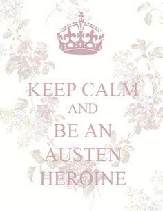 Be an Austen Heroine