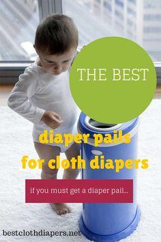 best diaper pails for cloth diapers  http://bestclothdiapers.net  #diaper-dekor, #ubbi, #pail-liners