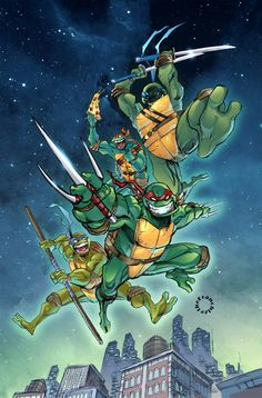 Teenage Mutant Ninja Turtles by Jerry Gaylord