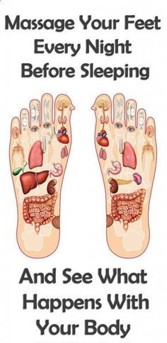 Massage Your Feet Every Night Before Sleeping And See What Happens With Your Body... - Healthy Tips