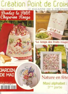 Creation de Point de Croix No. 20 - Mai / Juin 2012