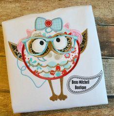 Hip Owl Girl Earphones