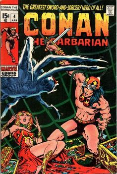 Conan the Barbarian #4. Art by Barry Windsor Smith.