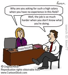 Job Search funny cartoons from CartoonStock directory - the world's largest on-line collection of cartoons and comics. Funny Cartoons, Funny Comics, Human Resources Humor, Office Humour, Funny Interview, Interview Questions, Funny Quotes, Funny Memes, Jokes