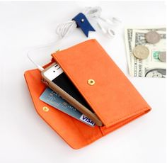 Zip Up Smartphone Wallet