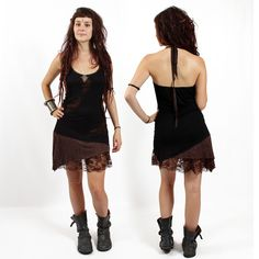 """Dress Exception """"Tarmy"""", Black brown"""