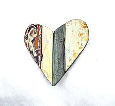 Mosaic Green Heart, Nursery Decor, Rustic Wall Decor, Recycled Wood Art, Reclaimed Decor, Wood Wall Art, Wooden Wall Heart, Rustic Heart by woodenaht on Etsy