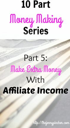 Learn all about affiliate marketing and the program that one blogger created. She went from $0-$100,000/month in affiliate income! via @thejennypincher