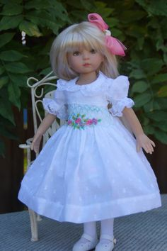 "Effner 13"" Little Darling *SUMMER SWEET* Ensemble by Ladybugs Doll Designs idea for 18 in doll"