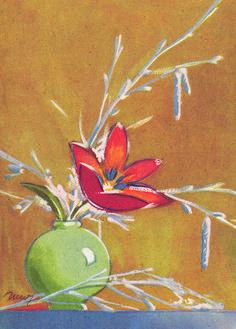 MARTTA WENDELIN | Osastot | Korttien Talo Finland, Martini, Illustrators, Artists, Flowers, Painting, Artist, Florals, Painting Art