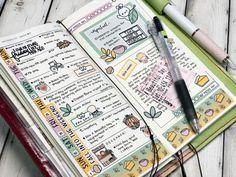 Types Of Journals, Art Journals, Franklin Covey, Notebook Ideas, Hobonichi, Planner Ideas, Smash Book, Filofax, Happy Planner
