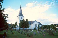 Lunder kirke von 1761 in Sokna am Fv 178-Ringerike/Buskerud