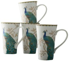 222 Fifth Peacock Garden Latte Mug, Set of 4 222 Fifth,http://www.amazon.com/dp/B00DVJM7ZI/ref=cm_sw_r_pi_dp_rCIEtb04DA1V9Y0F