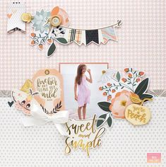 Sweet and Simple | American Crafts DT