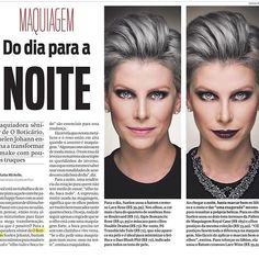 Suh sua linda @suelenjohann na @gazetadopovo falando sobre maquiagem, usando TousBrasil ❤️ !!!!