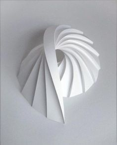 Best ideas for origami paper sculpture wall art Geometric Sculpture, Art Sculpture, Paper Sculptures, Architecture Origami, Concept Architecture, Origami Paper Art, Paper Crafts, Paper Paper, Paper Engineering