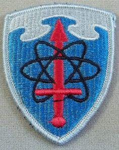 US Army Class A Patch Military Intelligence Agency / Merrowed Edge